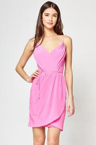 NWT  Yumi Kim Jayne Silk Dress in Hot Pink Sz XS