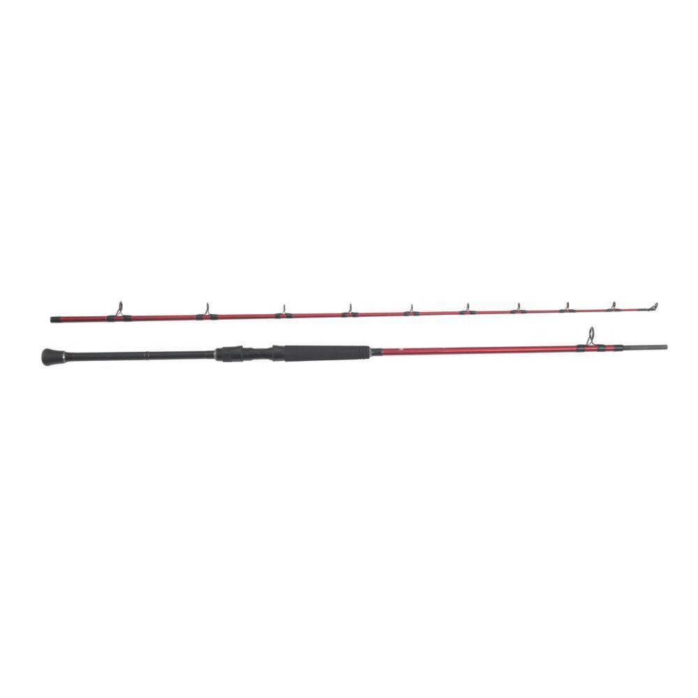 Penn Rampage II Boat Rod 7'6  2 piece in rod tube