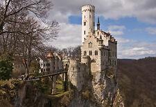 "CHOIS WM5028 Stuff  Wall Murals castle bridge trees sky  Wallpaper 100"" x 145"""