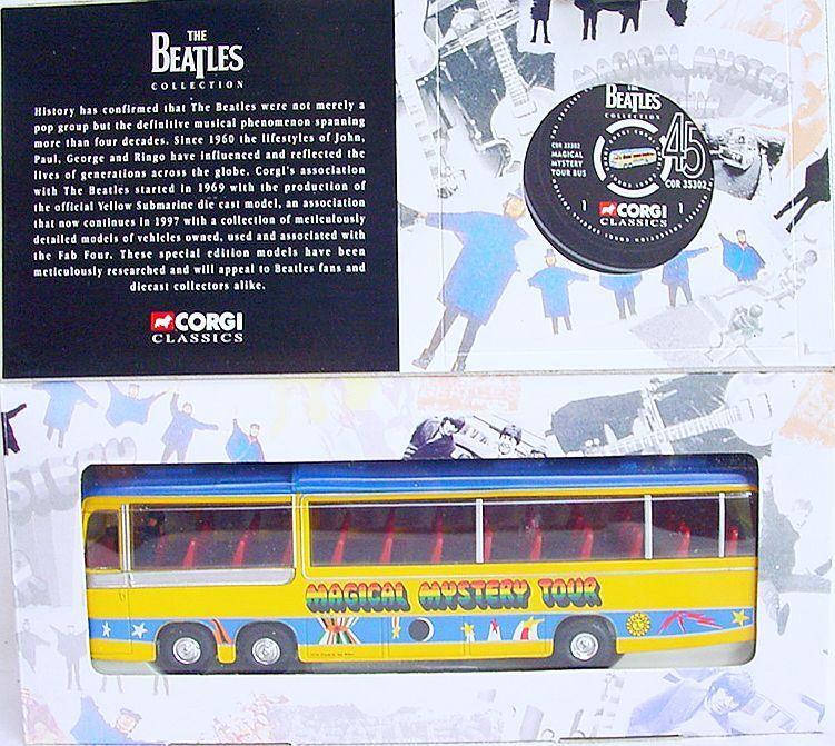 Corgi Classics BEDFORD VAL THE BEATLES MAGICAL MYSTERY TOUR BAND BUS MIB`97 RARE