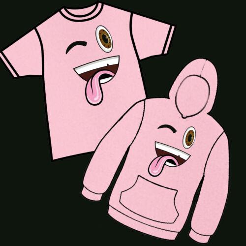 Jelly youtuber Player Kids Felpe Con Cappuccio Fan Merch Silly Gamer Bambini Bambine T-shirt