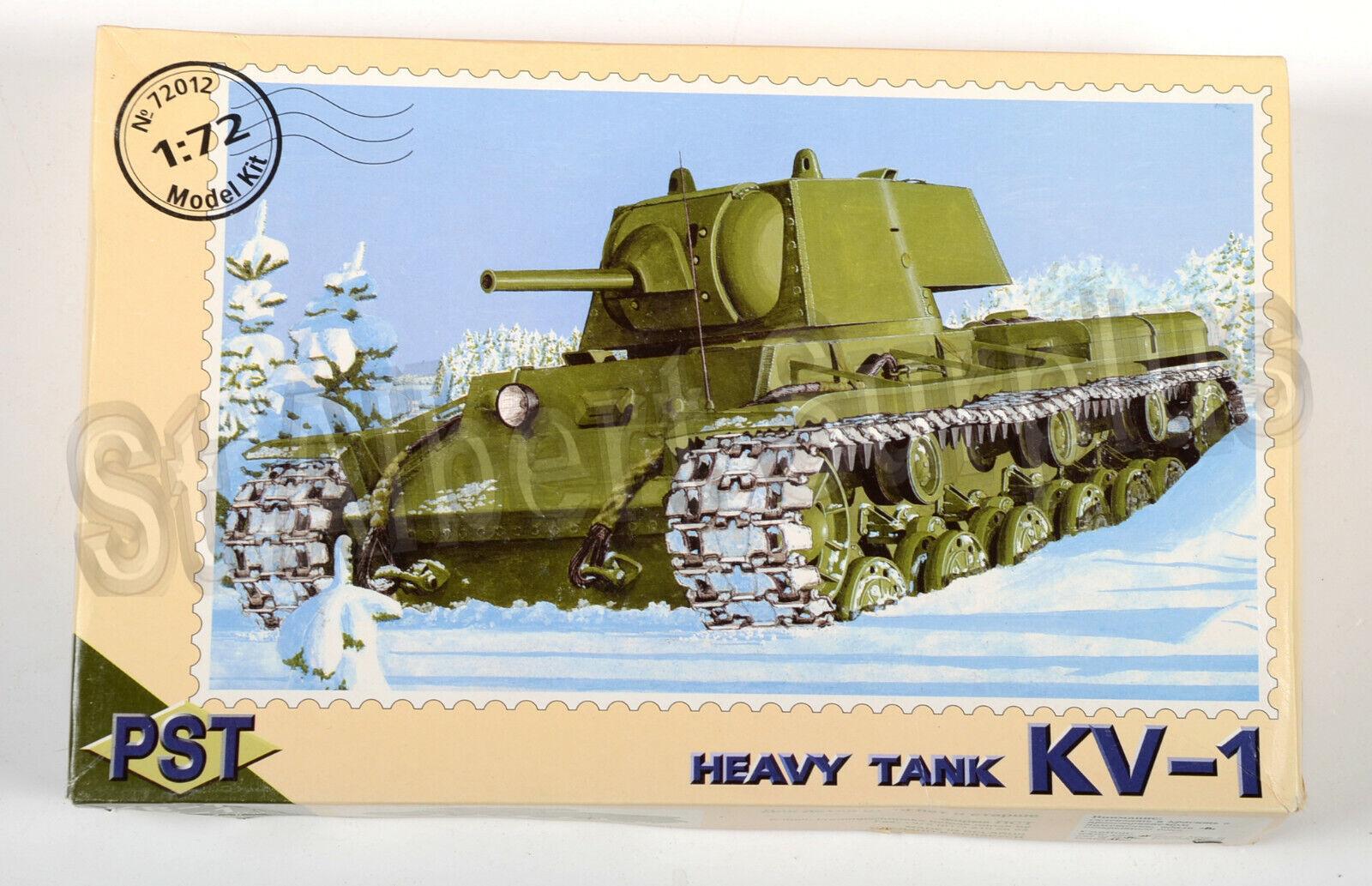 Soviet KV-1 Heavy Tank 1//72 Scale  PST 72012