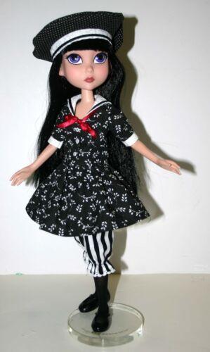 "Autumn Stroll Doll Clothes Sewing Pattern 15.25/"" Maudlynne /& LittleMissMatched"