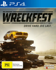 Wreckfest PS4 Game NEW