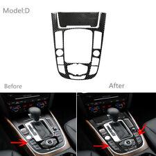 Fits Audi A3 09-12 Carbon Fiber Door Pillars B-Pillar Trim Covers Post