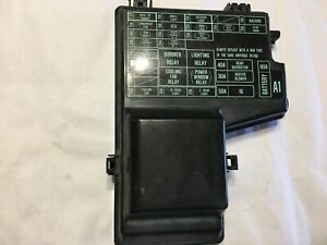 93 Honda Accord LX Fuse Box Cover MT Manual 90 91 92 OEM used | eBayeBay