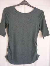 BODEN PRINTED BALLET BACK TOP HEATH SCATTERED SPOT. UK 14, EUR 40-42 US 10. BNIB