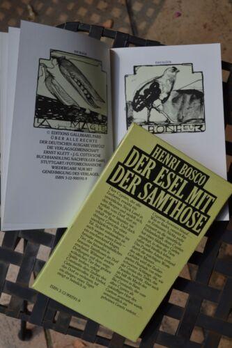1 von 1 - Henri Bosco: Der Esel mit der Samthose (L´Âne Culotte).  Lithogr.: O. Isoptin