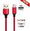 Fast-Charging-Braided-USB-Cord-For-iPhone-Samsung-Android-LG-Charger-Cable miniature 12