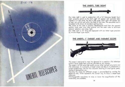 Unertl Telescopes 1956