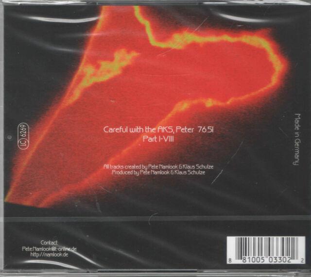 The Dark Side Of The Moog 8 von Pete & Schulze, Klaus Namlook (2004)- AW 034-OVP