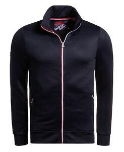 Chaquetas deportivas Superdry Hombre Orange Label Track Top Azul Ropa de abrigo