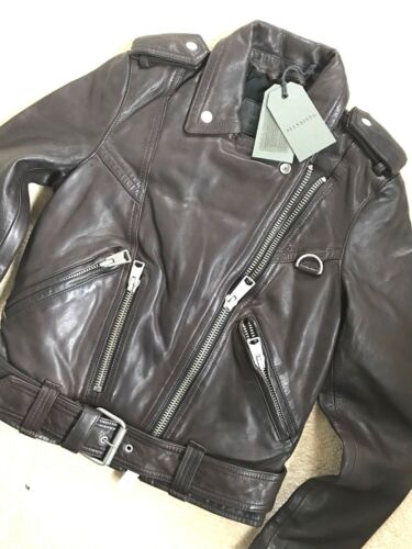 Uk 8 in Oxflood da Tags gidley New motociclista 6 Giacca pelle di nwqY86C6x