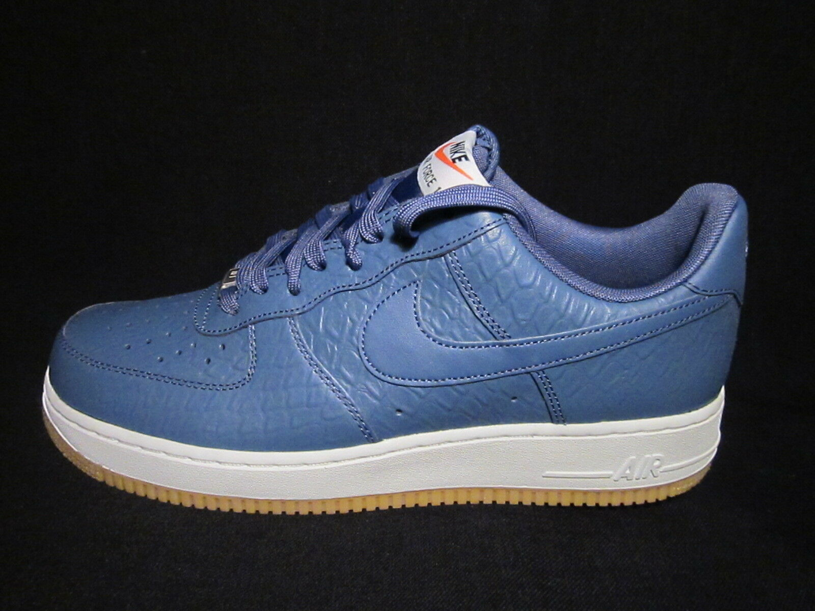 MENS NIKE AIR FORCE TRAINERS 1 '07 LV8 BLUE TRAINERS FORCE 718152400 f0f082