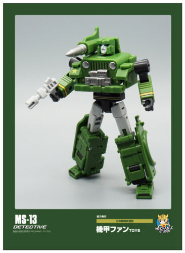 New MFT MS-13 DETECTIVE mini G1 Hound Transformation Action Figure toy