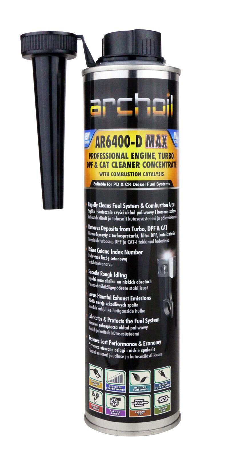 Ganz und zu Extrem Archoil AR6400-D 400ml Diesel Engine Cleaner for sale online | eBay &KW_54