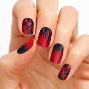 COLOR STREET Nail Polish Strips | MATERIAL GHOUL | BLACK ...