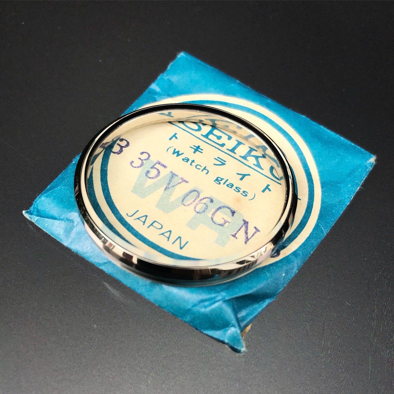 """Original Seiko 6138-8000 /""""bebé panda/"""" cristal genuino Seiko nos"""