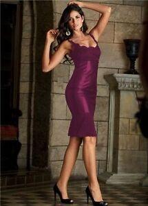 Kleiderpaket-10-x-Marken-Kleid-Stretchkleid-Cocktailkleid-Gr-36-LILA-OVP-TOP
