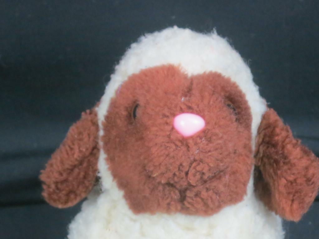RARE VINTAGE MADE IN KOREA LAMMY SHEEP LAMB ITEM PLUSH STUFFED ANIMAL TOY
