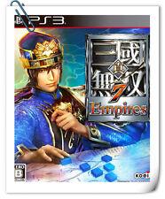 PS3 Shin Sangoku Musou 7 Empires 真三国无双7 帝国 中文 日文 Games Action Koei Tecmo Games
