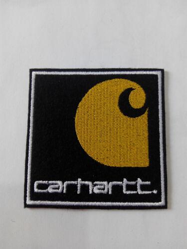 Parche bordado para coser estilo Carhartt 6//6 cm adorno ropa personalizada
