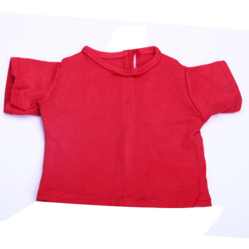 """Handmade Accessories Fits18/"""" Inch American Girl Doll Clothes Solid Color T-shirt"""