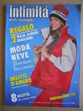 INTIMITA' n°2026 1985  Sydne Rome con inserto [D12]