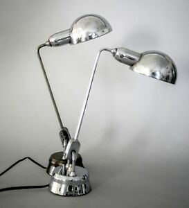 Details LAMP MODERNIST JUMO PAIR PERRIAND about DESK CHARLOTTE of FRENCH 5LRj4A