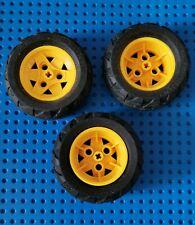 LEGO® Technic Reifen Rad Räder 68.8 x 40 Q Felge weiß 1 Stück Technik Ersatz