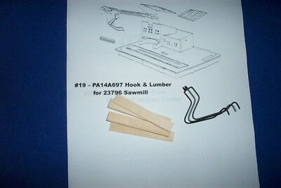 LARGE SAWMILL ROOF 23796 for American Flyer S Gauge Trains