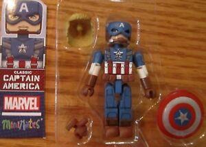 Marvel Minimates Series 55 Captain America Winter Soldier Movie Classic Cap