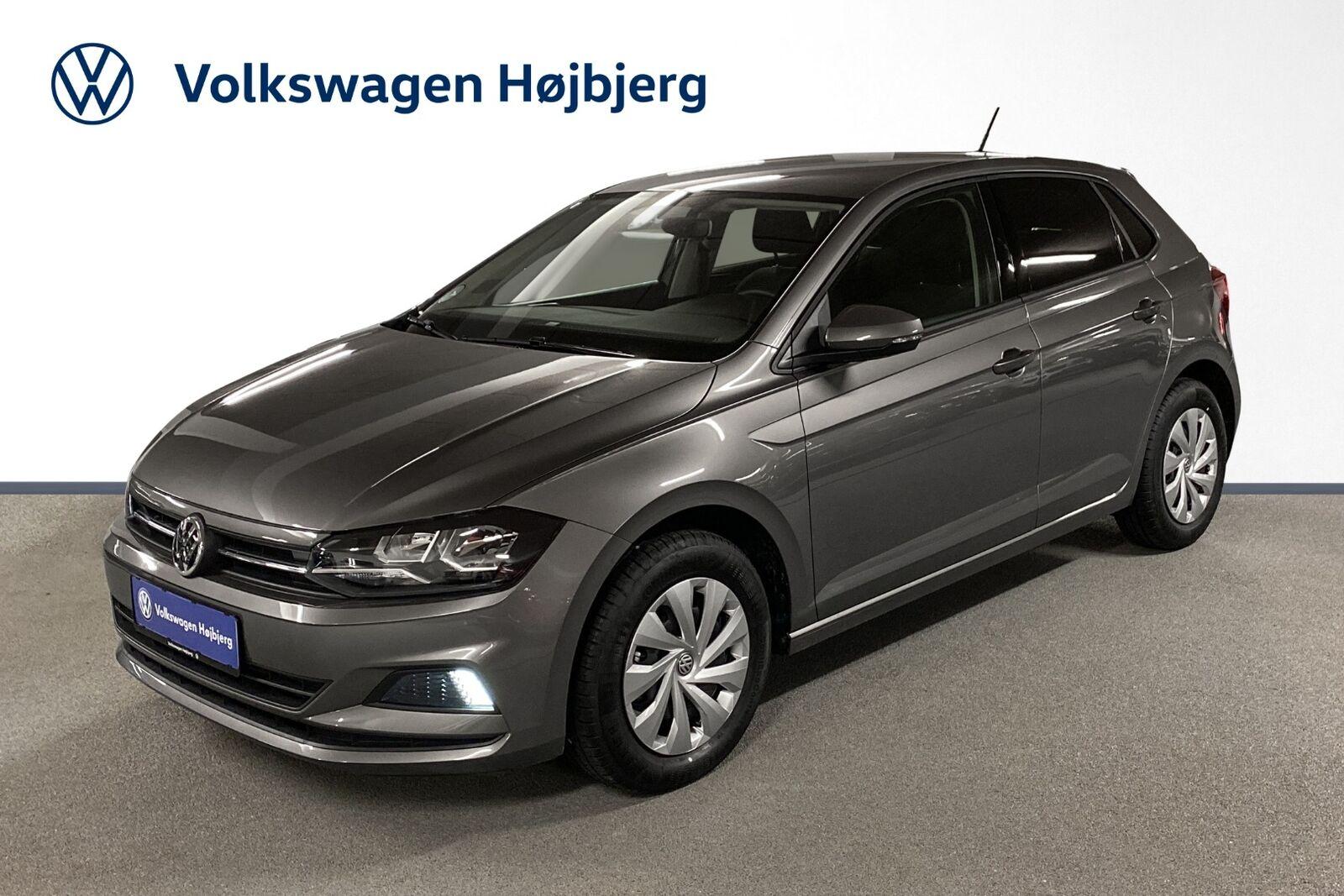 VW Polo 1,0 TSi 95 Comfortline+ DSG 5d - 199.900 kr.