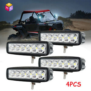 4Pcs-6-034-LED-Marine-Spreader-Light-LED-Deck-Mast-Light-Bar-18W-Spot-Boat-12V