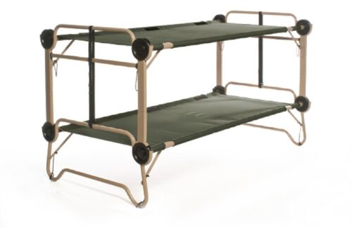 arm-o-bunk OUTDOOR CAMPING DOUBLE Domaine Cot Stock Lit US ARMY de camp