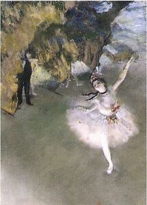 Edgar Degas Star Prima Ballerina Puzzle 1000 pcs Jigsaw puzzles TOMAX Art Gift