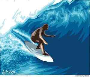Pipeline Surfer Sticker Decal Artist Marco Almera Ma62 Ebay