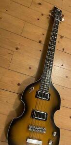 Duesenberg Violin Bass (für Beatles-Coverbands?) im Stile eines Höfner 500