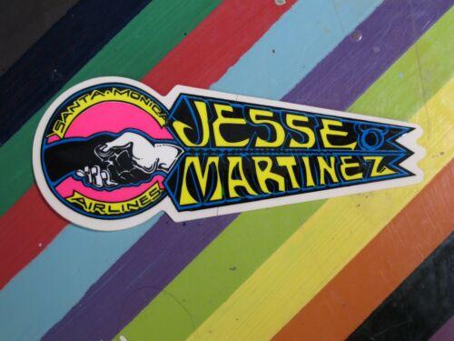 Details about  /vtg 1980s SMA skateboards sticker Santa Monica Airlines World Natas