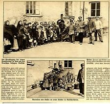 1915 Russisch-Polen * Verpflegung der armen Bevölkerung in besetzten Gebiet  WW1