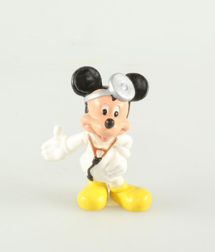 Figurine plastique Mickey Mouse Mickey Mouse en docteur Disney Bully