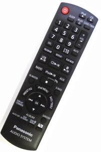 Genuine Panasonic N2QAYB000525 Shelf Hi-Fi System Remote SC-HC40DB SC-HC40