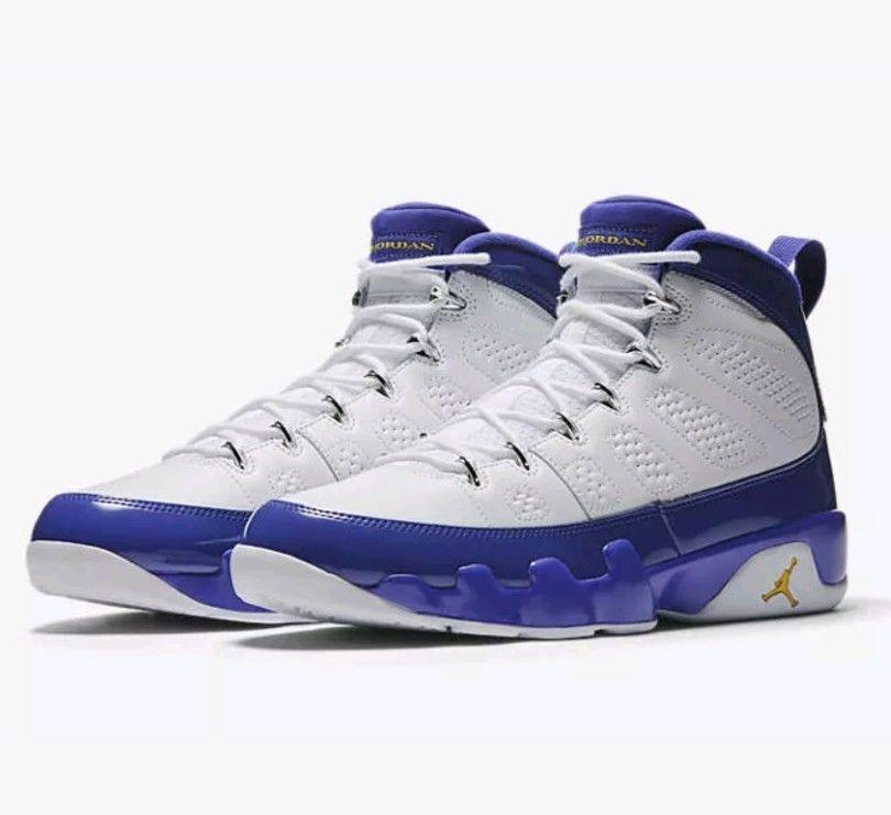 7c7c7784adc5 Air Jordan Jordan Jordan 9 IX Retro Kobe PE White Purple Concord B-grade  Size