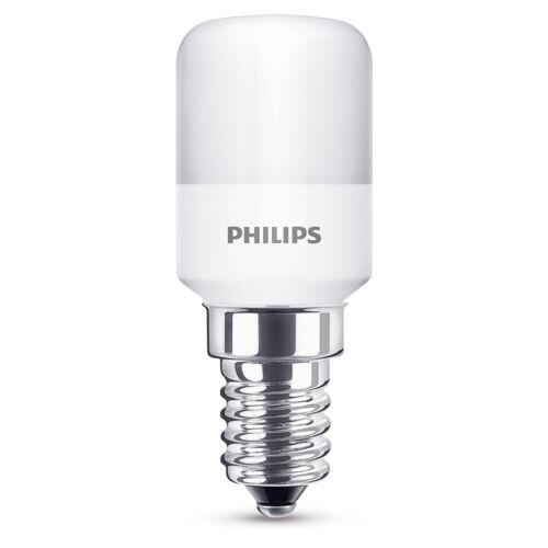 Philips Réfrigérateur Lampe 1,7 W = 15 w e14 OPAL MAT 136 LM 2700k Blanc Chaud Tube t25
