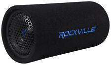 Rockville RTB65A 6.5 300w Powered Active Car Subwoofer Bass Tube Mp3 Input