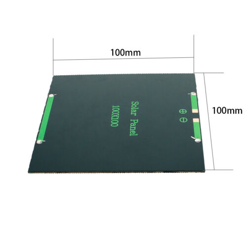 Polycrystalline Silicon Solar Panel Power Cell Battery Charger Solar Panel