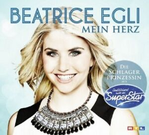 BEATRICE-EGLI-MEIN-HERZ-2-TRACK-CD-SINGLE-DSDS-POP-NEU