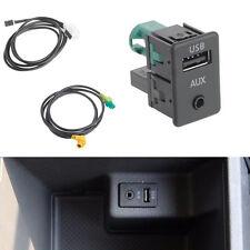 RCD510+310+300+RNS315 AUX USB Switch Cable FIT VW MK6 Golf Jetta CC PASSAT B7 B6