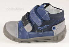 Superfit Boys Blue Gore-Tex Botas De Cuero UK 5 EU 21 nos 5.5 0005081 PVP 44.00