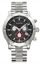 Valentino Men's V40LCQ9909-S099 Homme Series Black Swiss Chronograph Date Watch